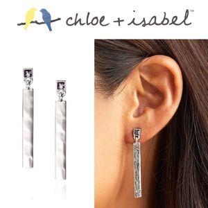 🆕 Hero Metal Linear Earrings c+i E362